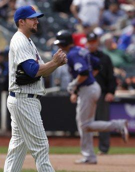 Rockies Mets Baseball