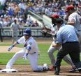Justin Turner hurts ankle, forcing David Wright to play shortstop