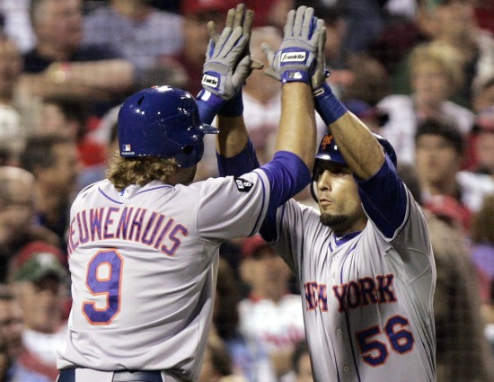 Sure, Kirk Nieuwenhuis & Andres Torres are pals now. But just wait...