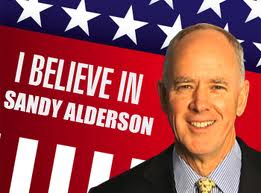 Somebody believes in Sandy Alderson