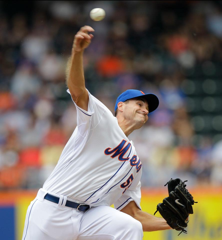 Chris Young suffers 1st loss as Met
