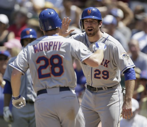 Daniel Murphy after hitting his first of 2 homers