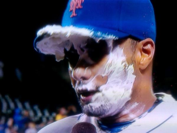 Do we really want this to be our lasting image of Johan Santana's no-hitter?