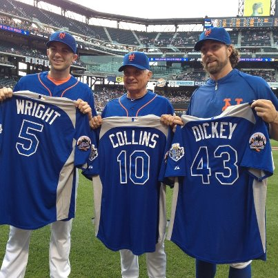 Will Tony La Russa take away R.A. Dickey's All-Star jersey as well?