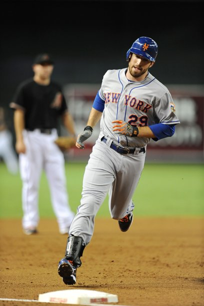 Ike Davis rounds bases after 1st of 2 homers Saturday in Arizona