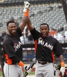 Jose Reyes & Hanley Ramirez -- teammates no more