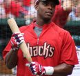 Justin Upton would look better in blue & orange