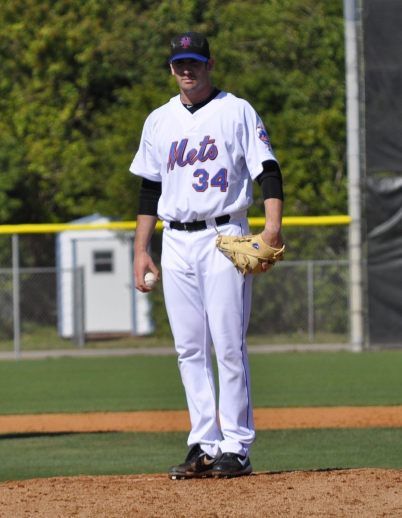 Matt Harvey looks good in a Mets uniform