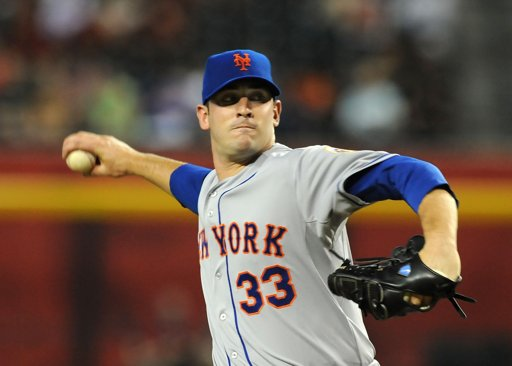 Matt Harvey throwing 1st major league pitch Thursday night