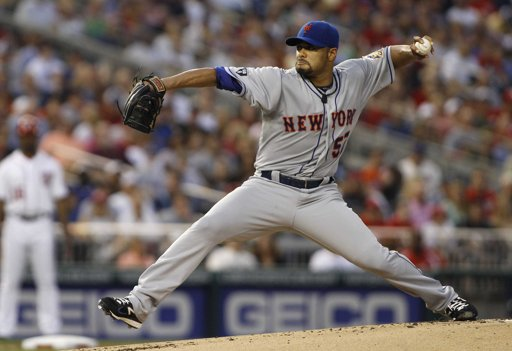 Johan Santana rocked in Washington