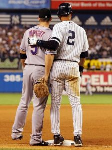 Pals David Wright & Derek Jeter.