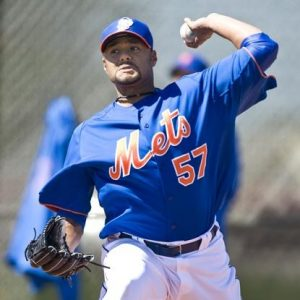 Johan Santana's bullpen session could be last we see of him for a while.