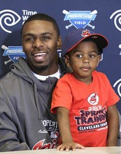 Michael Bourn's son was never close to being a Mets fan.