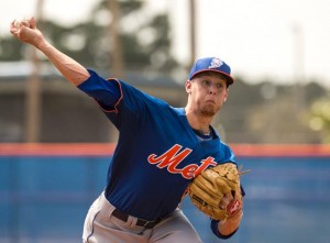 Zack Wheeler throws impressive batting practice session.