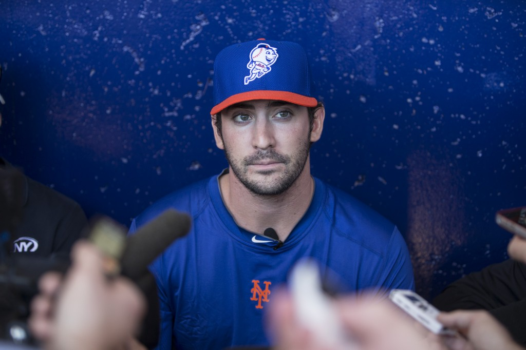 Matt Harvey takes on Mets media restrictions.