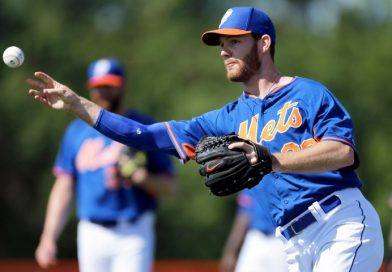 Classy Vic Black Bids Farewell to Mets Fans