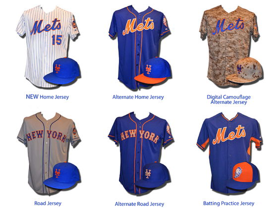 mets uniform