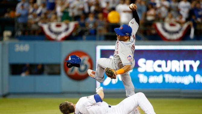 Ruben Tejada's time with the Mets should be up.