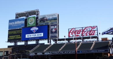 "Photo: Mets Unveil ""Coca-Cola Corner"""