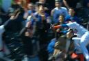 Video: Yoenis Cespedes Flies into Stands