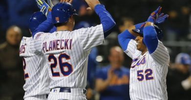 Mets Riding High
