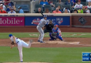Video: Noah Syndergaard Throws Behind Chase Utley