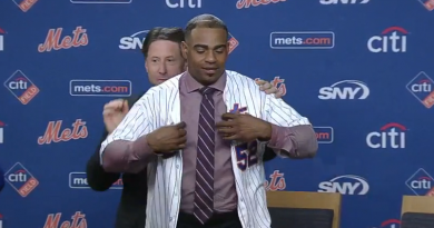 Video: Yoenis Cespedes News Conference