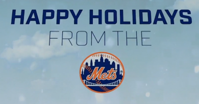 Video: Holiday Greetings from the Mets