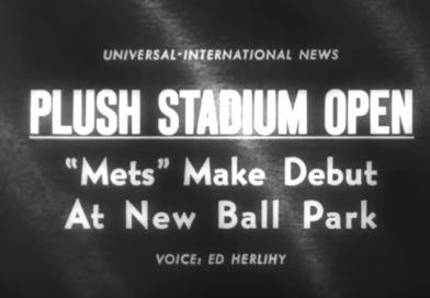Video: Vintage Newsreel of Shea Stadium Opening