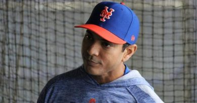 Mets to Hire Luis Rojas as Manager